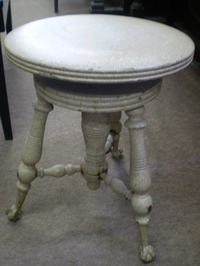 超アンティーク ピアノ椅子2
