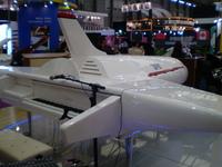 上海メッセ  ジェット機
