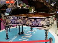 上海メッセのピアノ